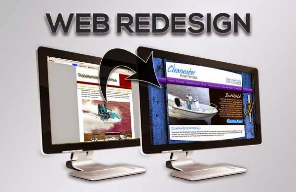 Top Benefits of Website Redesigning.