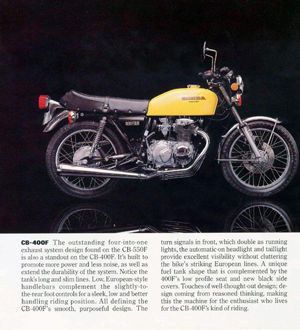 Cb 550f Cb 400f Honda First For Good Reason In 2020 Vintage Honda Motorcycles Honda Cb Honda
