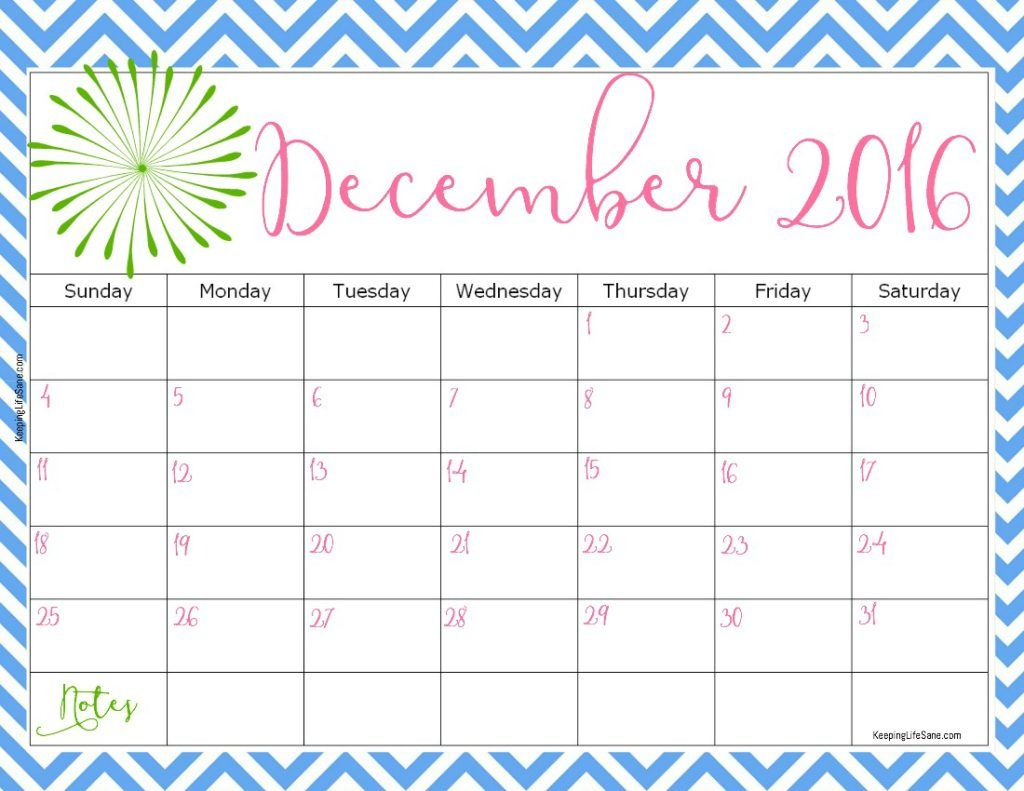 Free Printable Calendar With Images