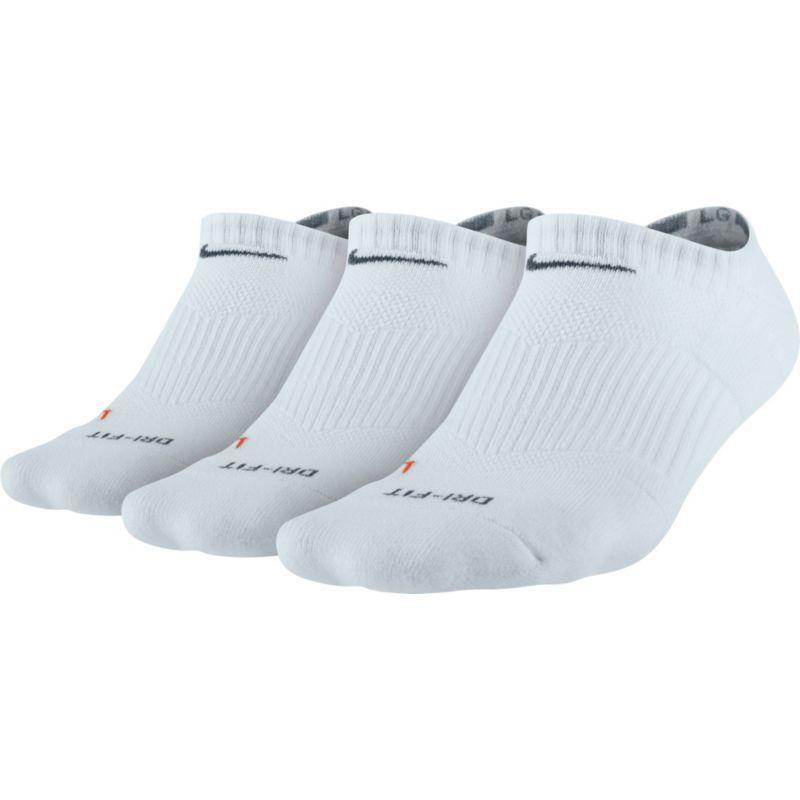 Nike Dri FIT Cushion No Show 3 Pack Womens Running Socks