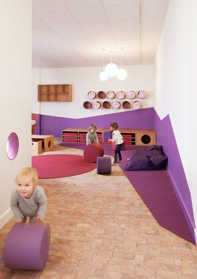 Kita sinneswandel nach dem umbau interior kids for Raumgestaltung schule