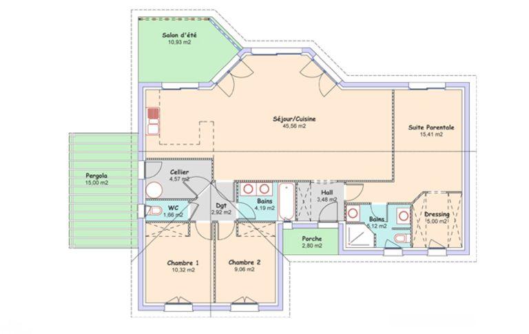 plan maison mca