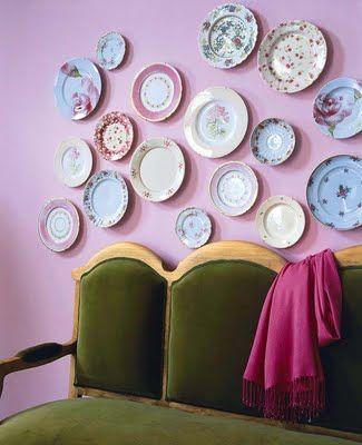 20 Ideas To Create Plates Wall Collage Shelterness Plates On Wall Plate Collage Eclectic Plates