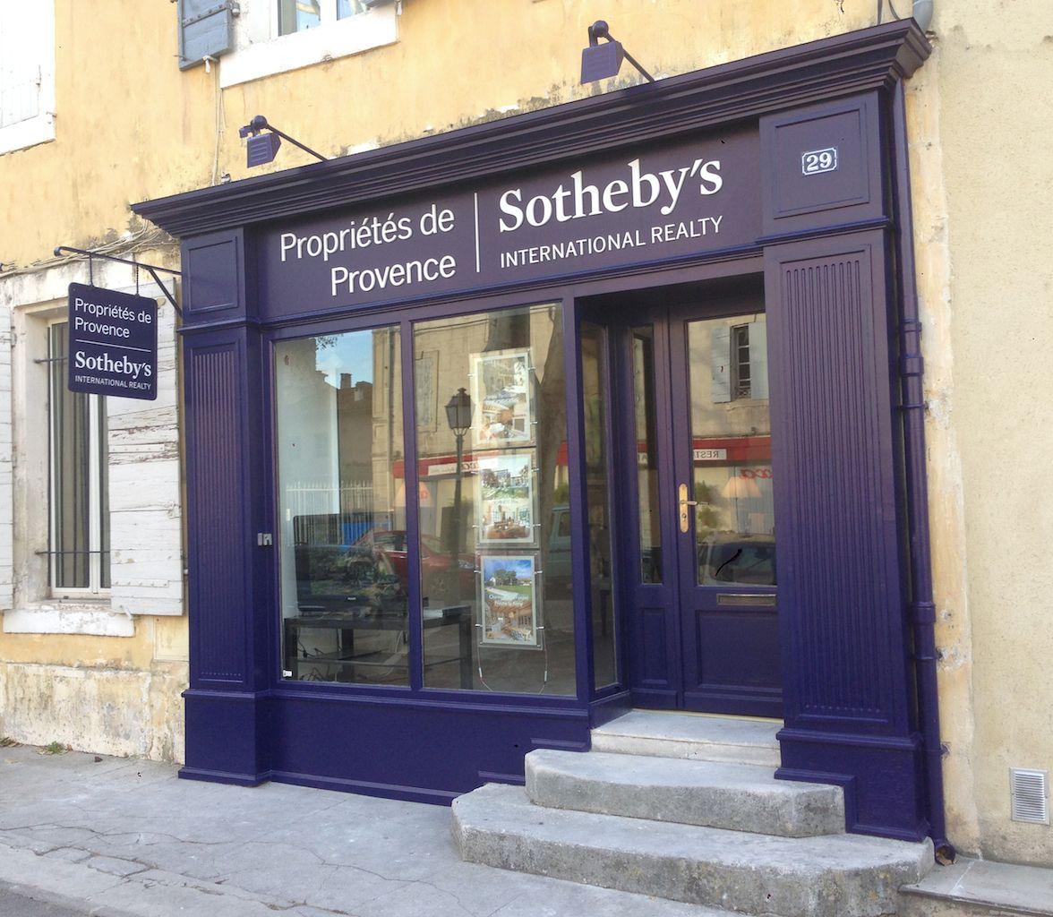 Newest Location Of Proprietes De Provence Sotheby S International Realty 29 Boulevard Mirabeau Saint Remy Saint Remy De Provence Agence Immobiliere Propriete