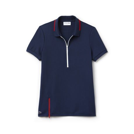 8dcf9dac72 Women's Made in France Edition Lacoste straight fit polo in premium ...