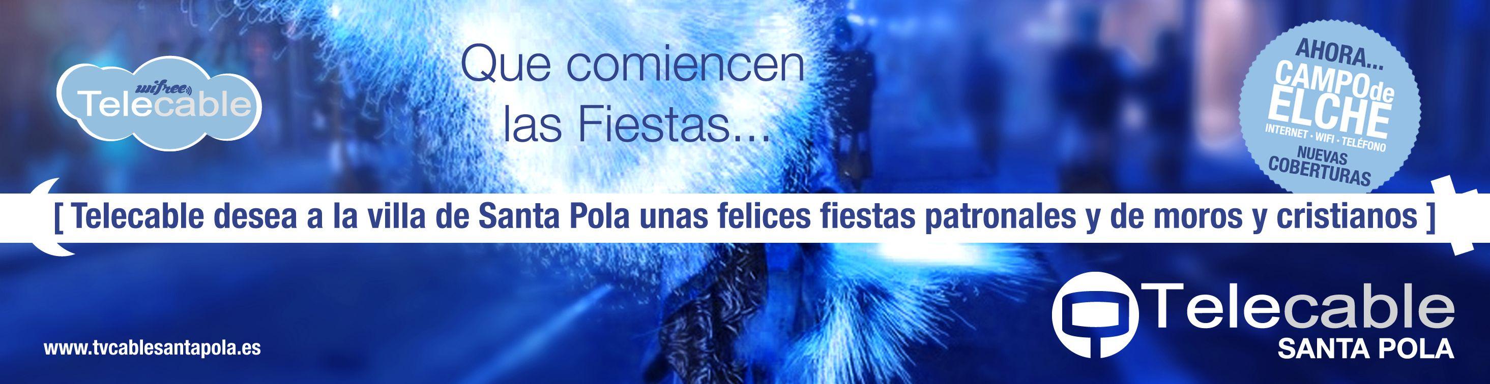 Fiestas Moros y Cristianos Santa Pola 2014