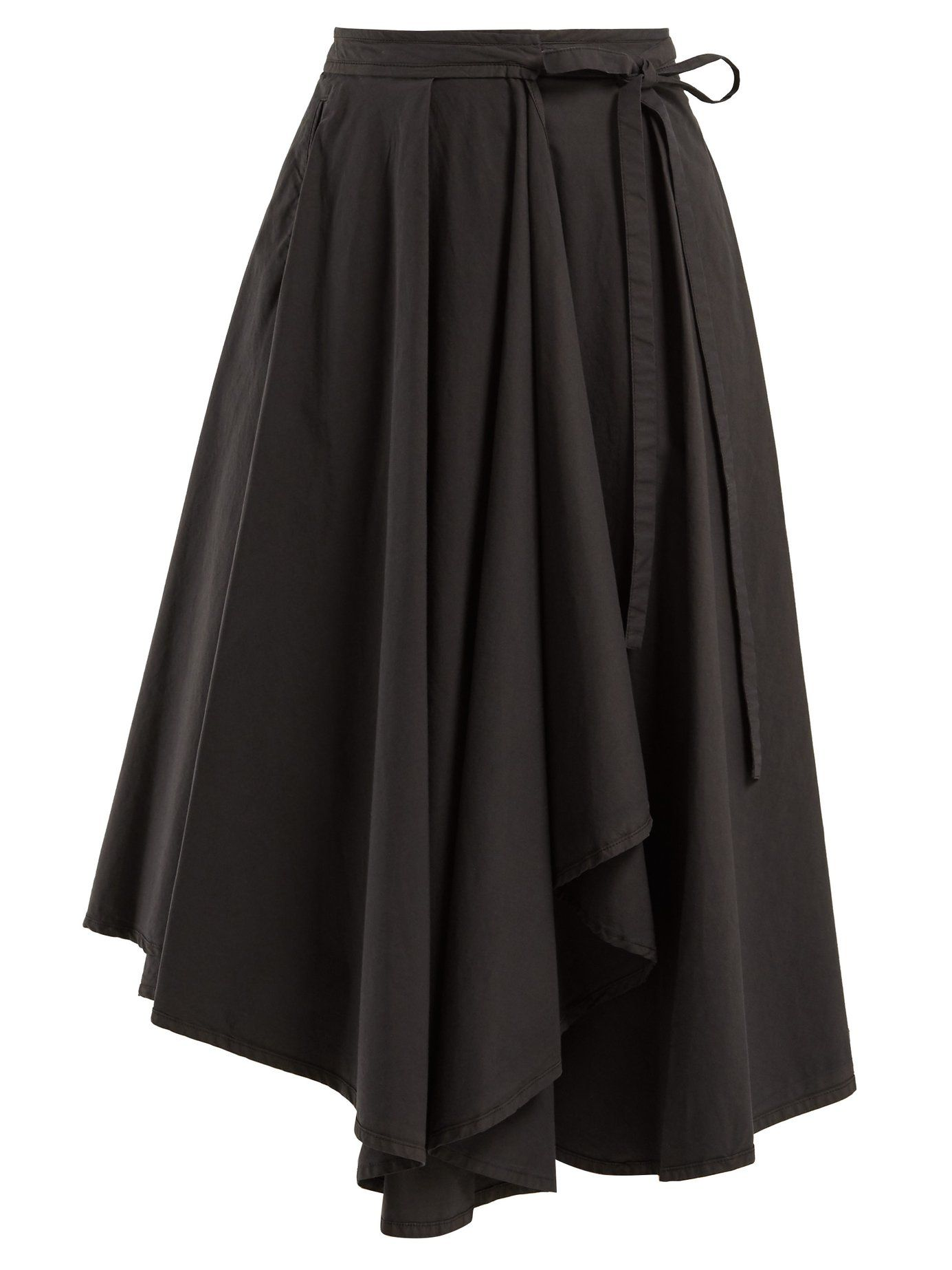 527eb2cf6 Draped cotton midi skirt | Lemaire | MATCHESFASHION.COM US | clothes ...