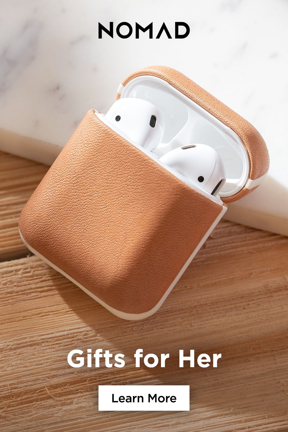Case For Airpods Leather Case Earbuds Case Apple Watch Accessories