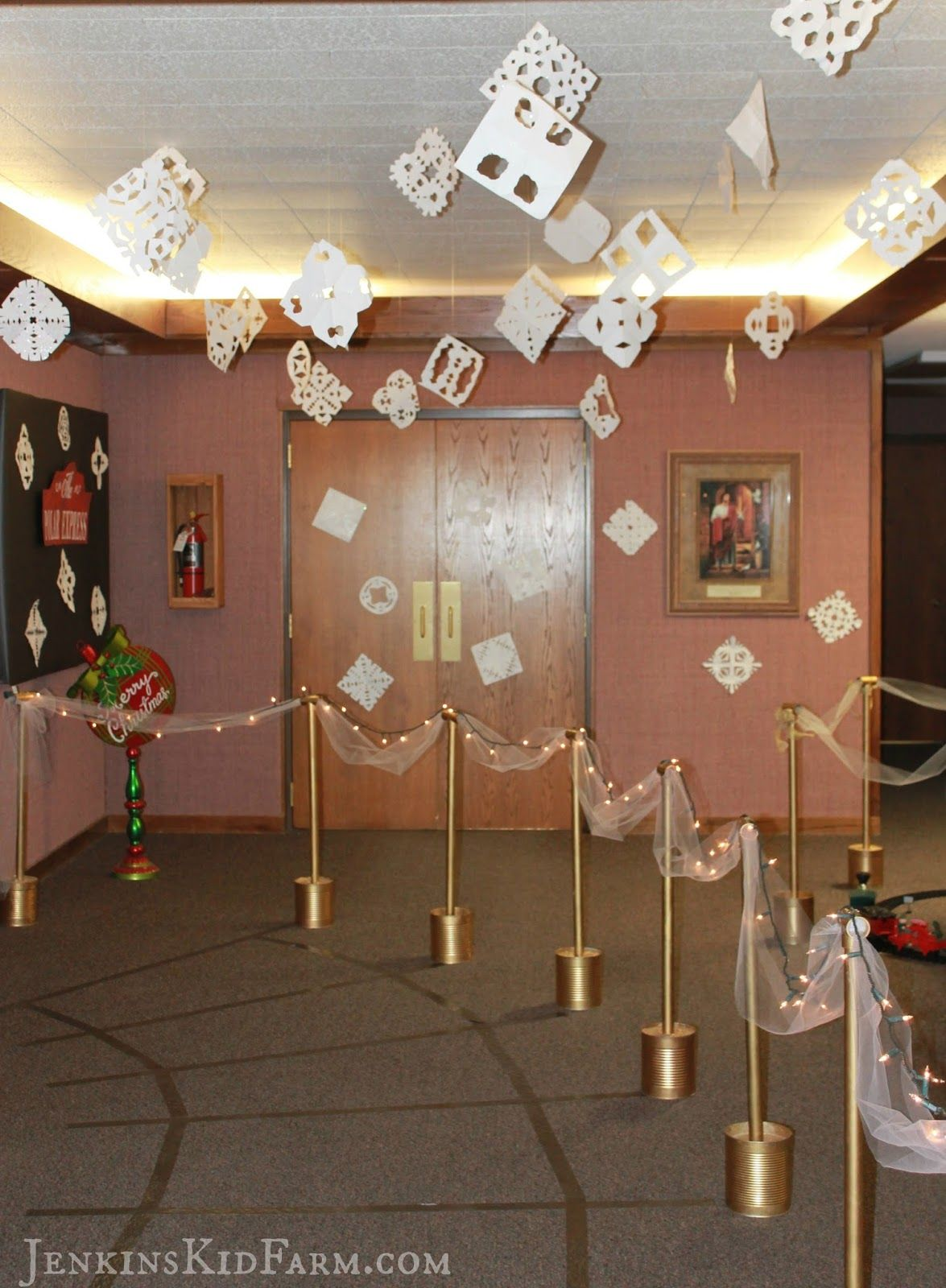 Ward Christmas Party Ideas Part - 38: Jenkins Kid Farm: Polar Express Ward Christmas Party