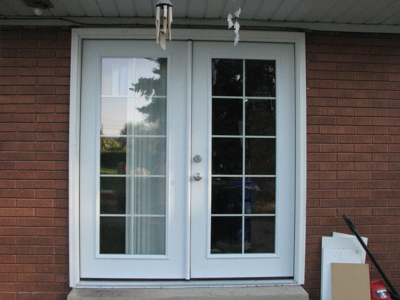 How to Install a Patio Door- French patio doors off of ...
