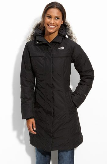 1a2d4931 North Face parka, I need a new winter coat and this would be perfect. Would  like in black or charcoal gray
