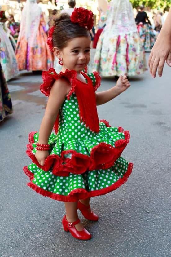 Check Out The Shoes Traje Flamenca Niña Vestido Flamenco Niña Vestidos De Sevillanas