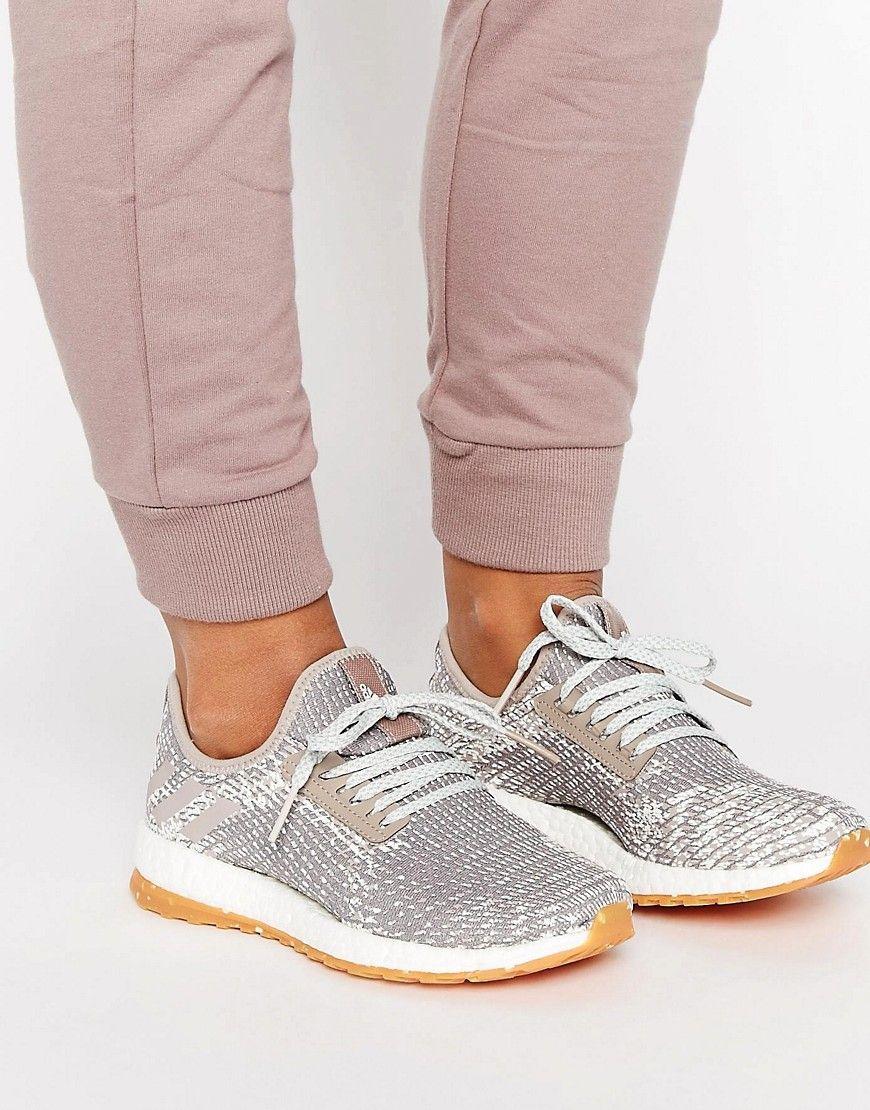 d2b9df5005 Zapatillas de deporte con efecto piel de serpiente Pureboost X de adidas  Originals. Zapatillas de deporte de Adidas