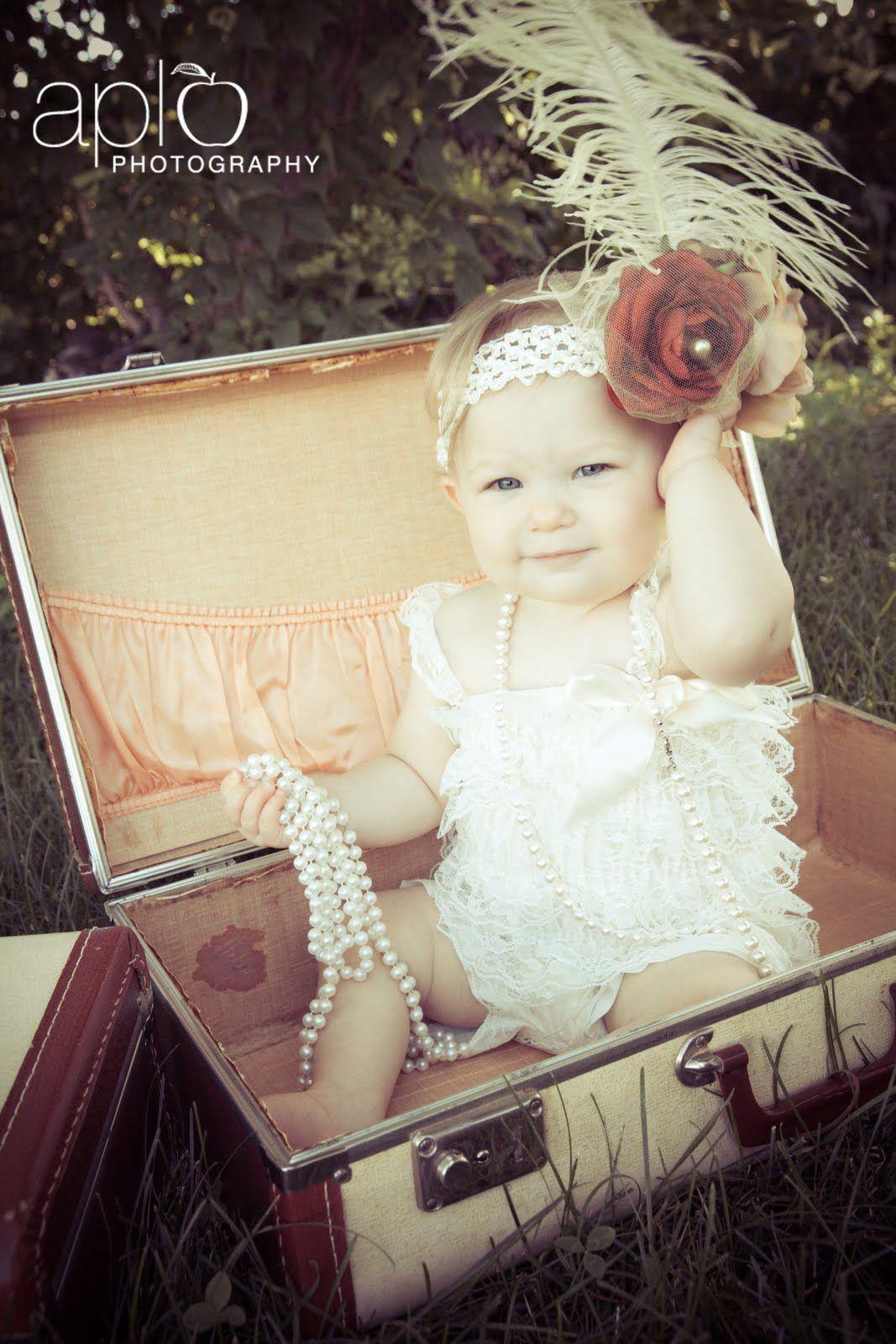 Adorable Baby Girl Photography Vintage Baby Girl Baby Photography