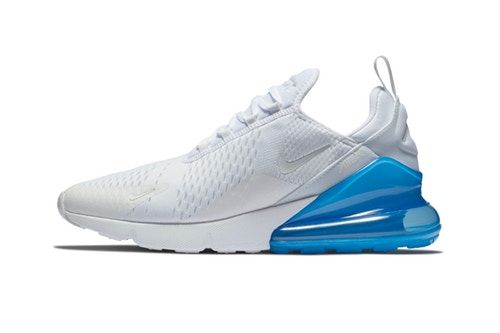 "Nike's Air Max 270 Will Take on A ""White/Photo Blue"" Makeover 