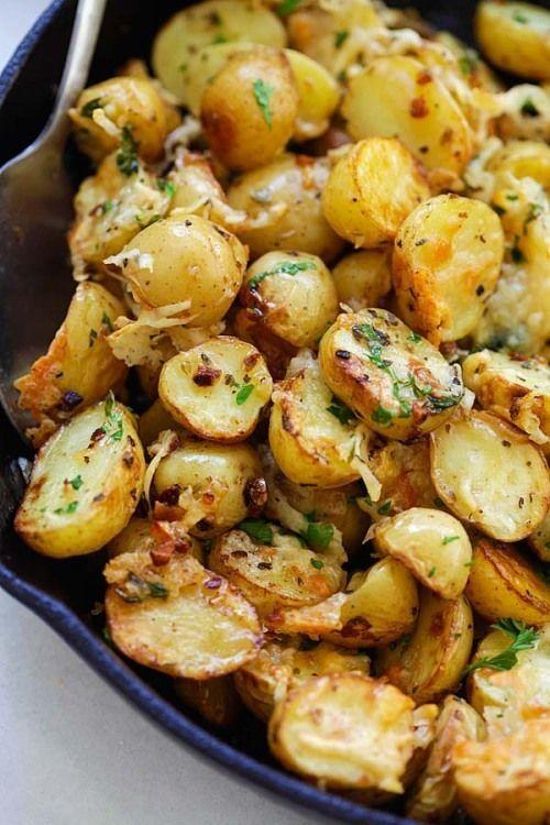 Italian Roasted Potatoes Really nice recipes Every hour Show Mein Blog Alles rund um die Themen Genuss  Geschmack Kochen Backen Braten Vorspeisen Hauptgerichte und Desser...