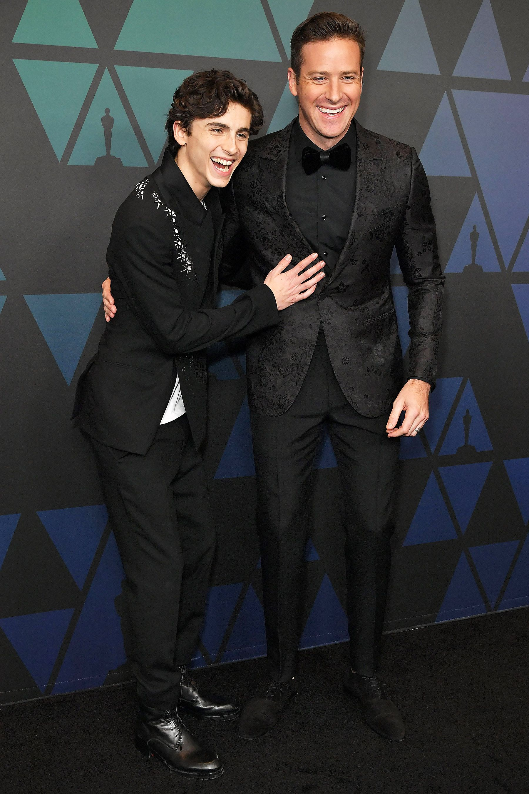 98dac305a94 Armie Hammer and Timothée Chalamet Have Adorable Call Me By Your Name  Reunion at Governor s Ball