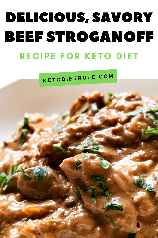Beef Stroganoff Recipe With Sour Cream Gluten Free Keto Diet Rule Recipe Beef Stroganoff Stroganoff Recipe Low Carb Diet Recipes