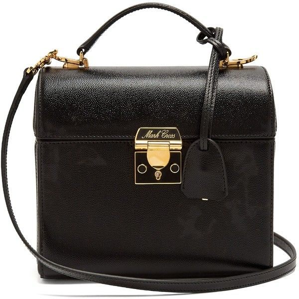 Sara saffiano-leather bag Mark Cross Z3ukdyfQ