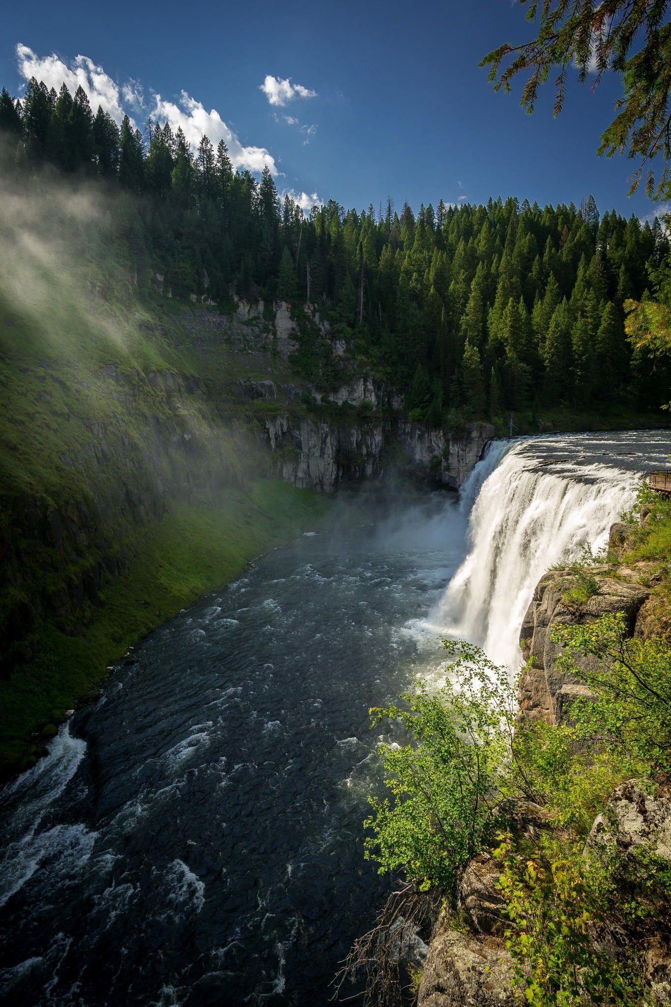 Upper Mesa Falls   Idaho   Photo By Michael Anderson