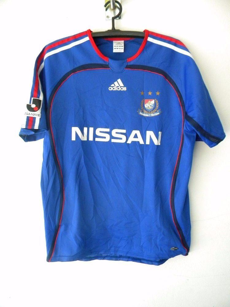 68ceacee5 Yokohama F Marinos Soccer Jersey Shirt J-league NISSAN Adidas Used M Blue  2006 #adidas #YokohamaFMarinos
