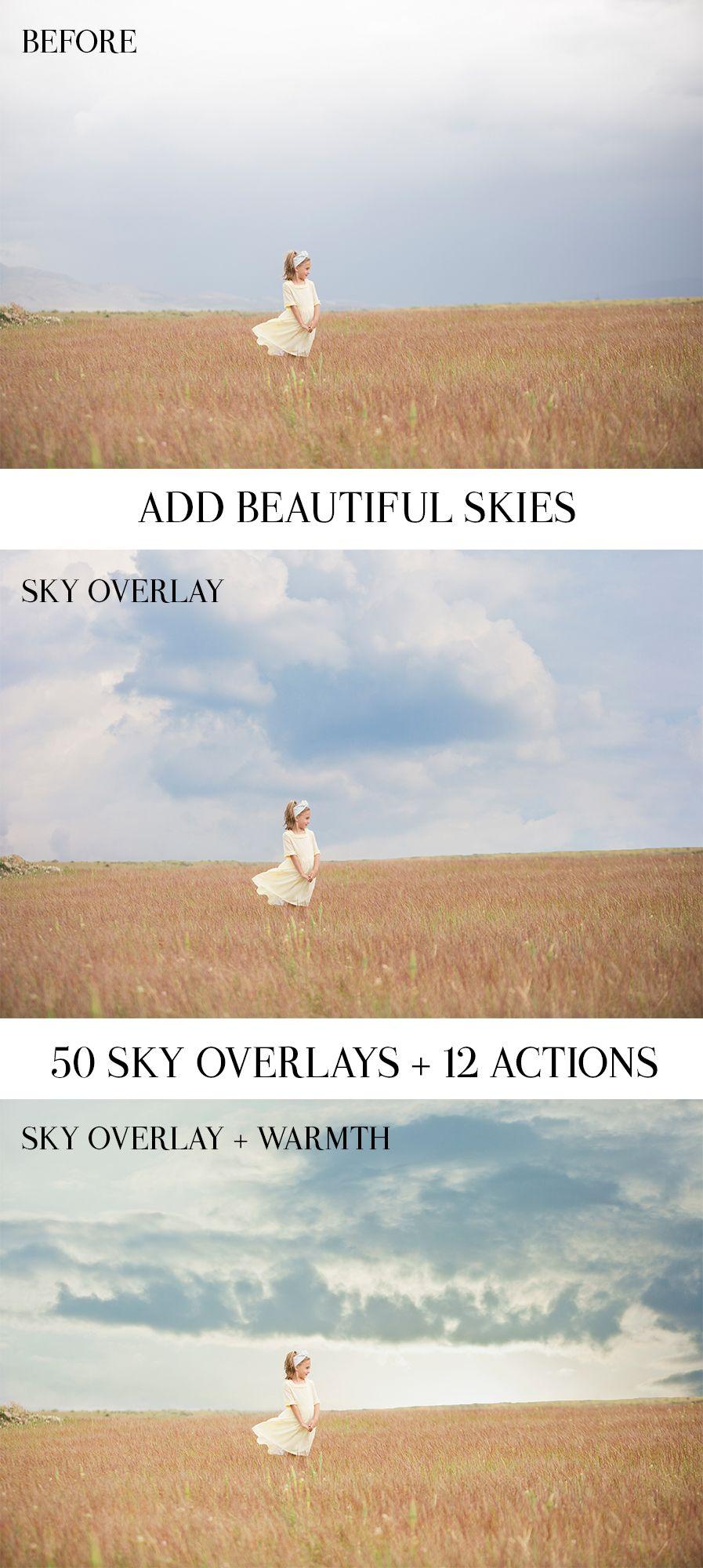 Lighting and Skies Bundle- $85 - Elyana Ivette Photoshop Actions and Lightroom Presets