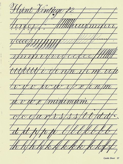 image about Copperplate Calligraphy Alphabet Printable named Copperplate Coach Sheet 1 Calligraphy and lettering