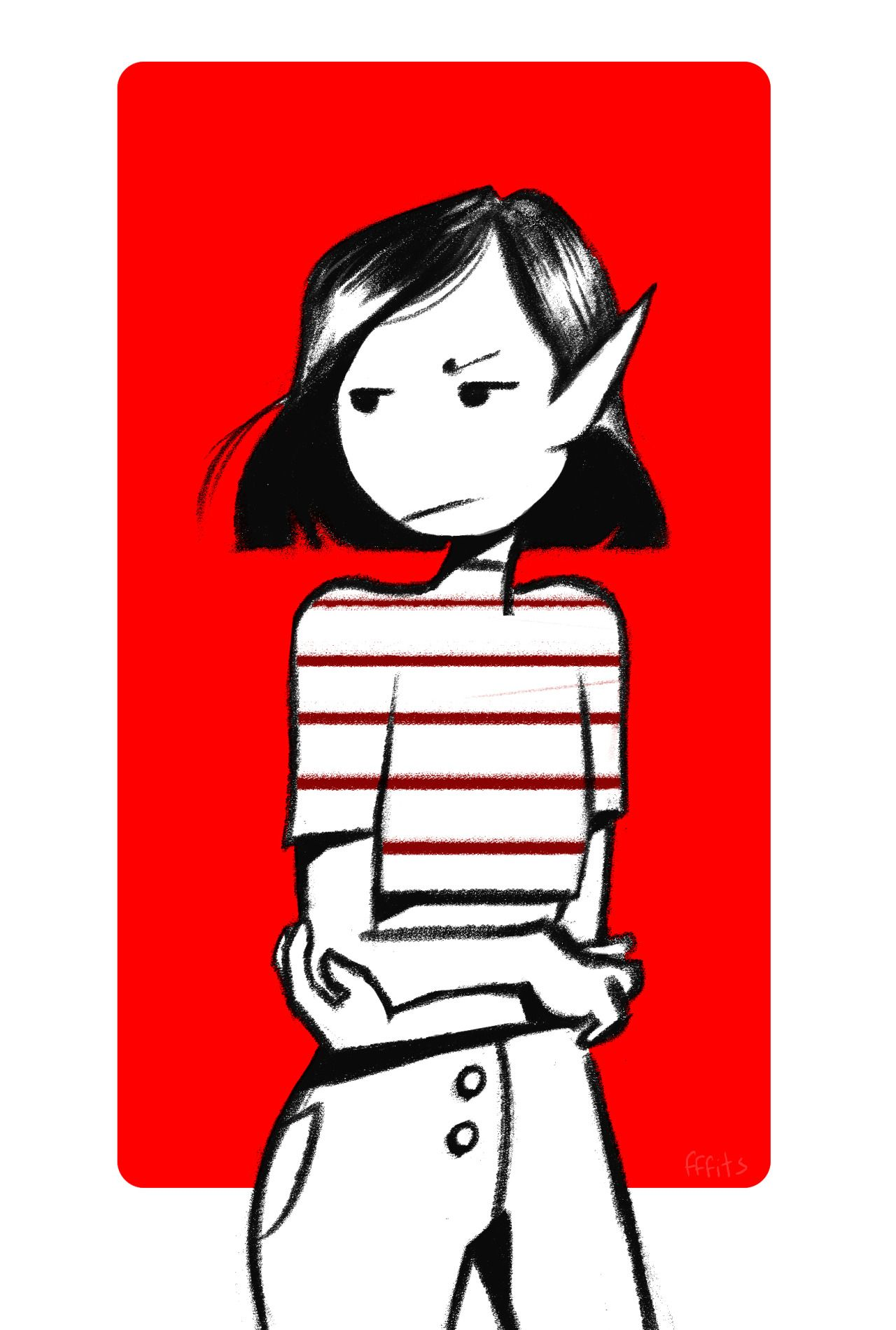 I really like Marceline with short hair Adventure time