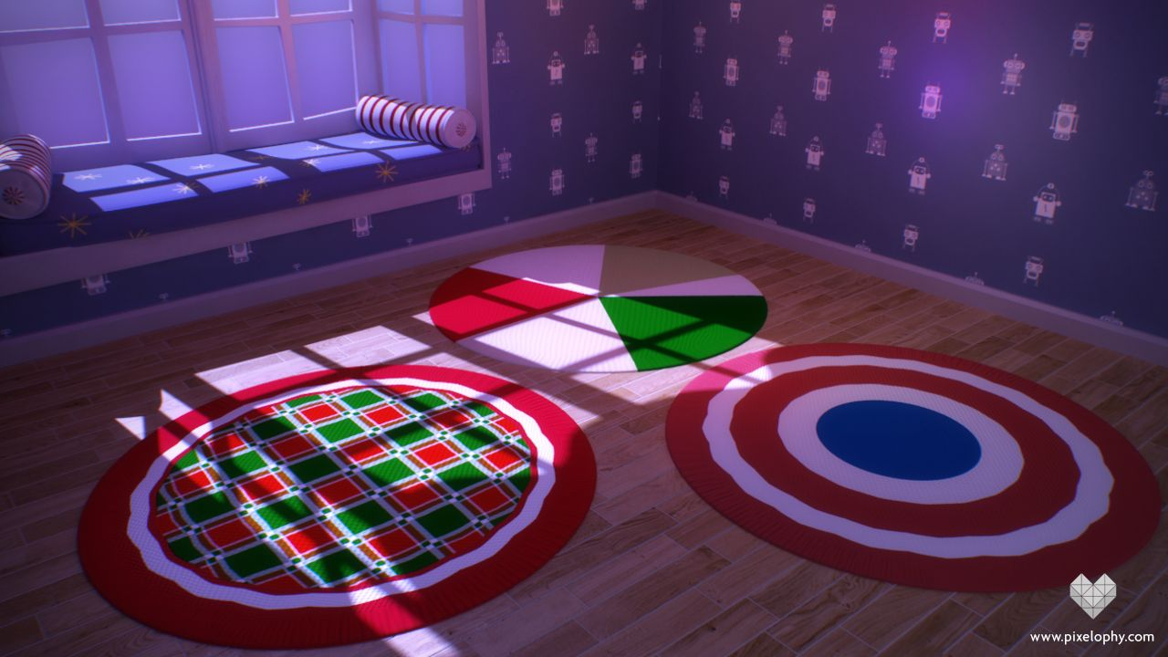 Creating A Carpet And Rug Shader Using Maya S Procedural Textures Rugs On Carpet Texture 3d Tutorial