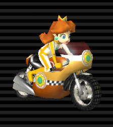 Princess Daisy Medium Weight Mach Bike Princess Daisy