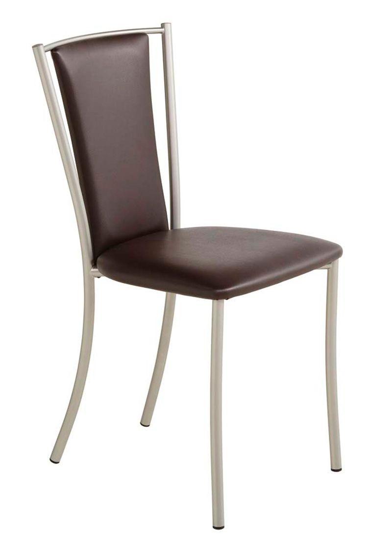 04110 - Avec son dossier longiligne et ajouré, cette chaise représente la modernité et le confort | Meubles Toff