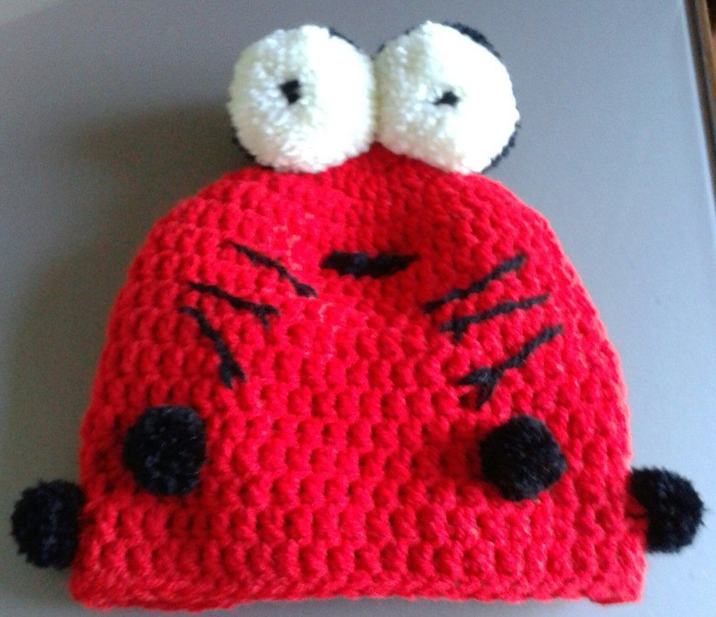 "Crochet ""ladybug"" Baby Hat , Baby Gir Hat, Baby Boy Hat, Christmas Gift, Accessories di perla996 su Etsy"