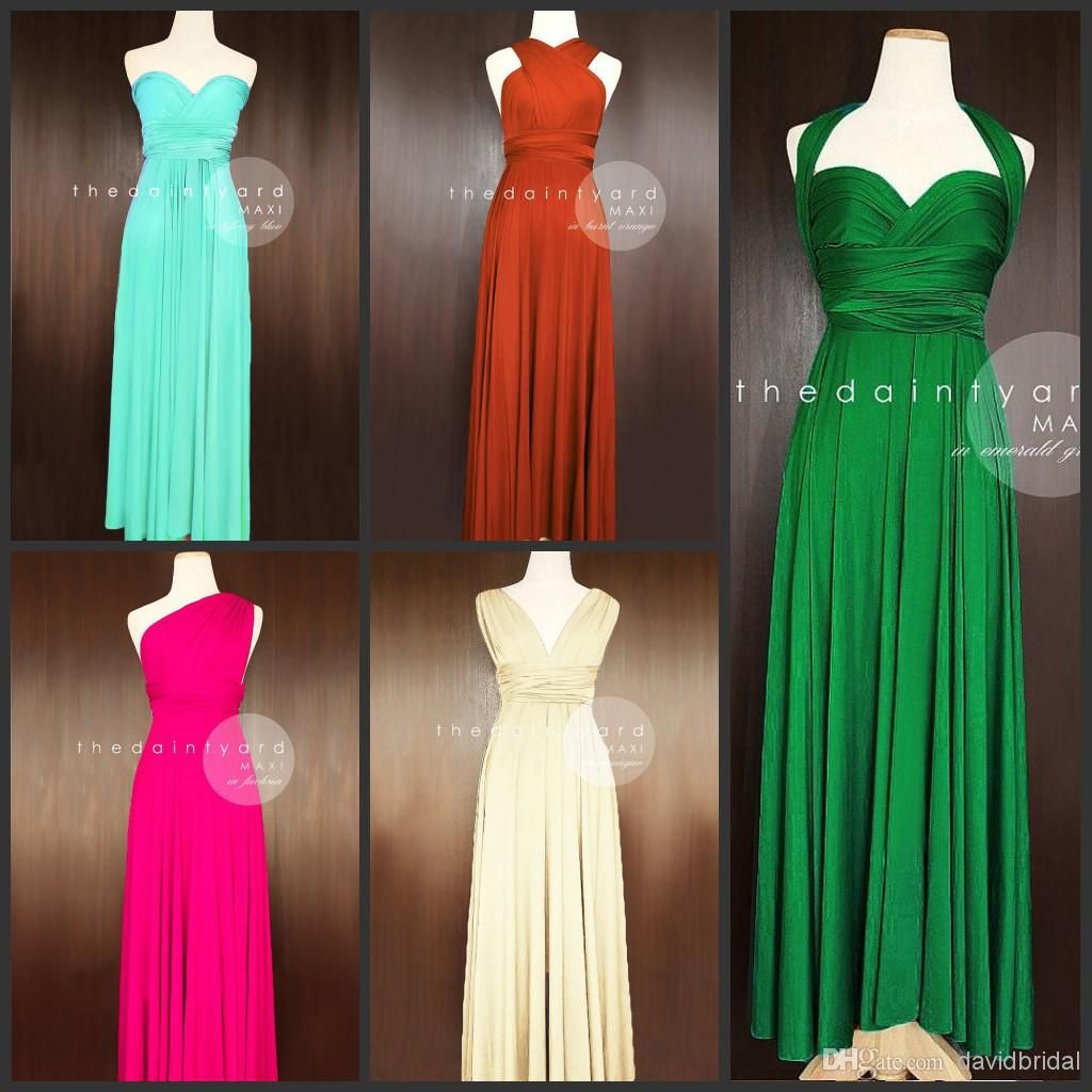 Ruched Halter Or Other Neckline Chiffon Full Length Long Cheap Bridesmaid Dresses Sexy Wedding Party Dress Prom Gowns from Davidbridal,$57.95   DHgate.com