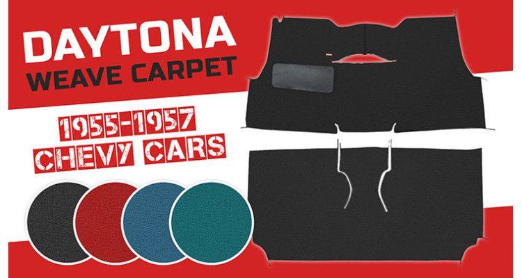 Trim Parts Daytona Weave Carpet For Chevy Tri 5s