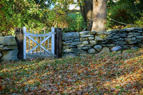 Gate / Portsmouth RI / David Fuller Photo