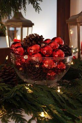 Our Living Room Mantel - Christmas 2010...