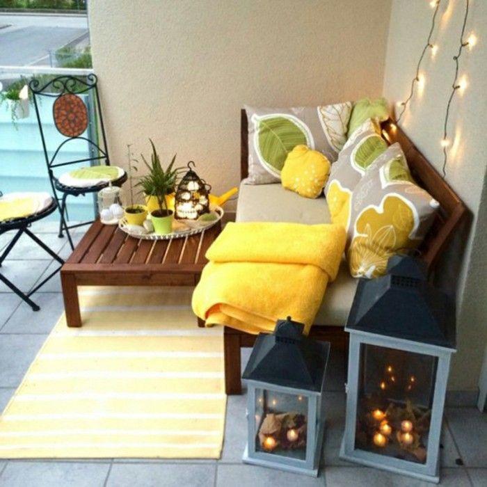 1001 ideen zum thema schmalen balkon gestalten und einrichten wohnen pinterest gelbe. Black Bedroom Furniture Sets. Home Design Ideas