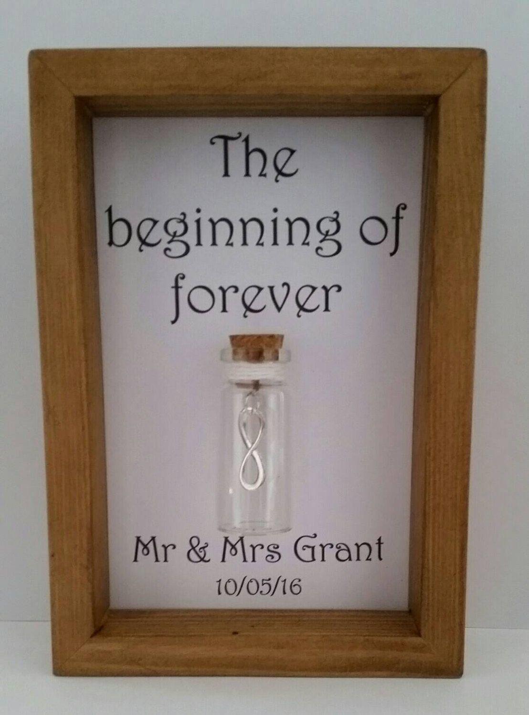 Wedding Present Wedding Gift The Beginning Of Forever