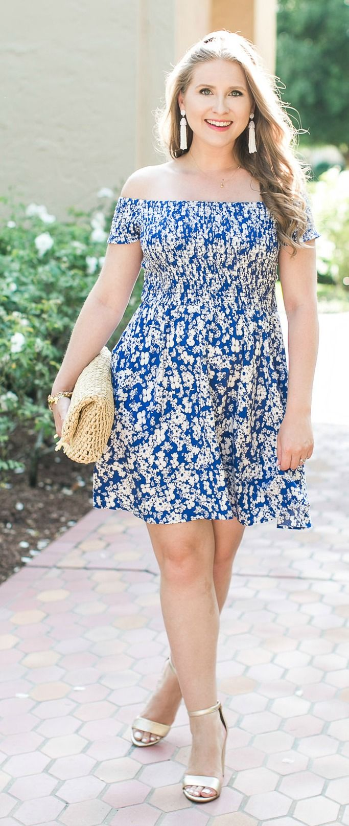 Express Off The Shoulder Dress + Best Memorial Day Weekend Sales ...