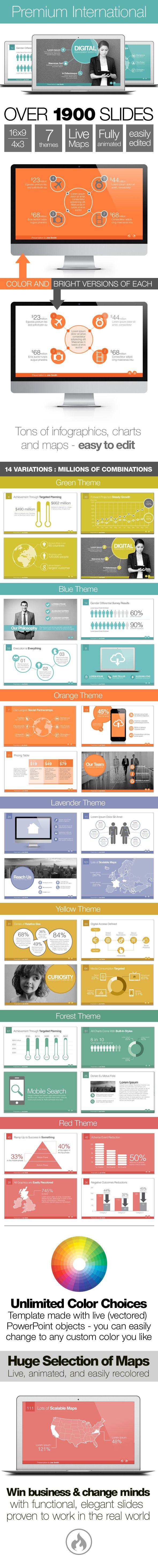 premium international template system presentation slides slide