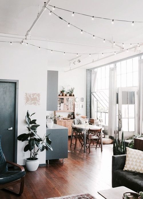 How To Hang String Lights Indoors Cool Pinshaeanne Prentice On Home Inspiration  Pinterest  Living Inspiration