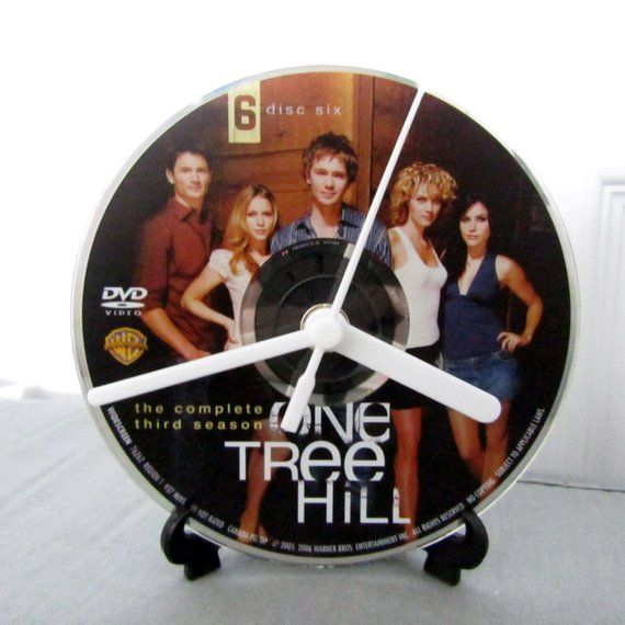 One Tree Hill DVD Clock DIY TV Show Decor (Season 3, Disc 6