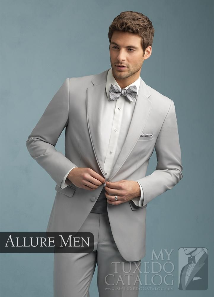 Coordinated Style for Grooms and Groomsmen by Allure Men | Men dress ...