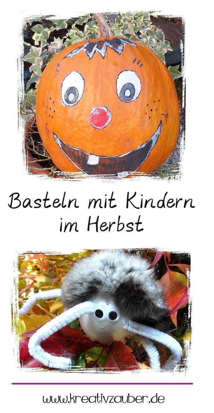 Basteln mit Kindern Herbst - tolle Ideen und Vorlagen - Kreativzauber®