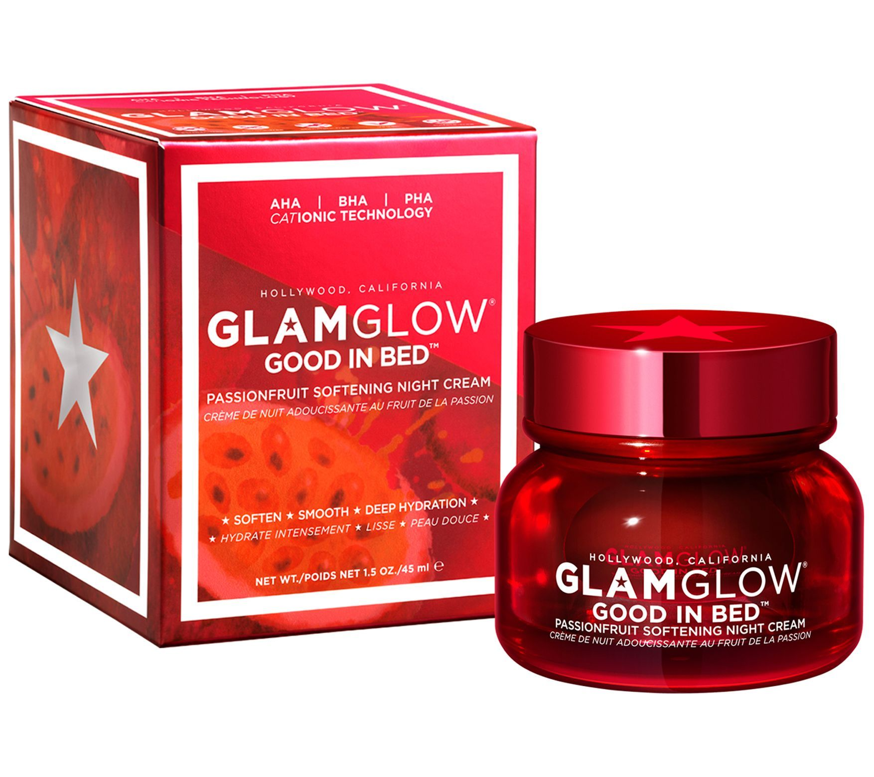 Glamglow Good In Bed Passionfruit Night Cream 1.5 oz in