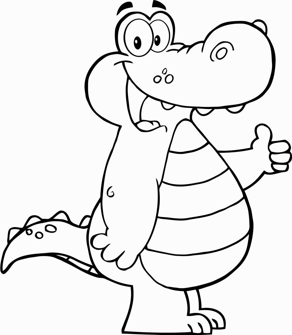 Alligator Coloring Page Preschool Coloring Pages Fall Coloring