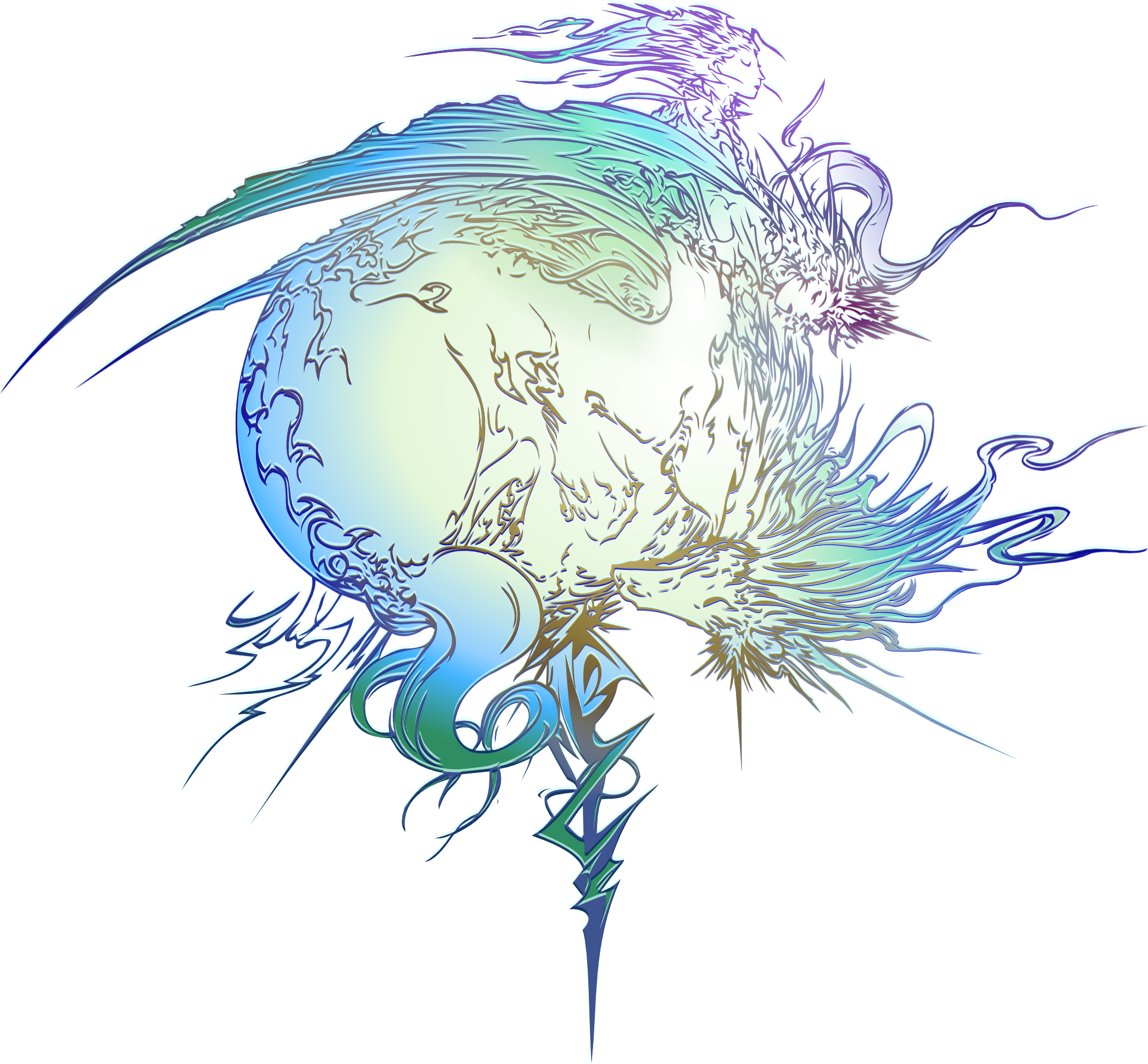 Final Fantasy XIII logo by on