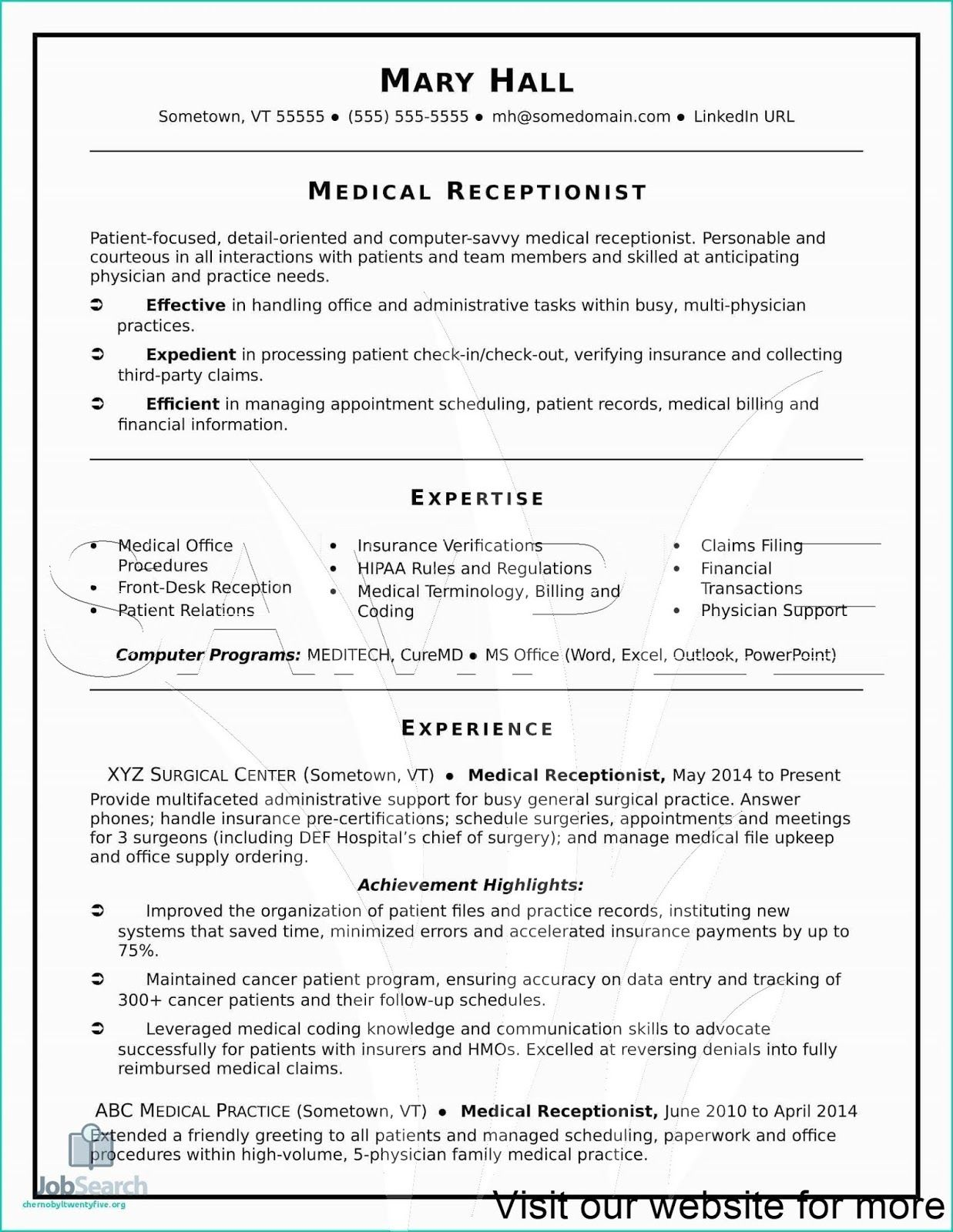 Resume for Medical Coder Fresher in 2020 Medical resume