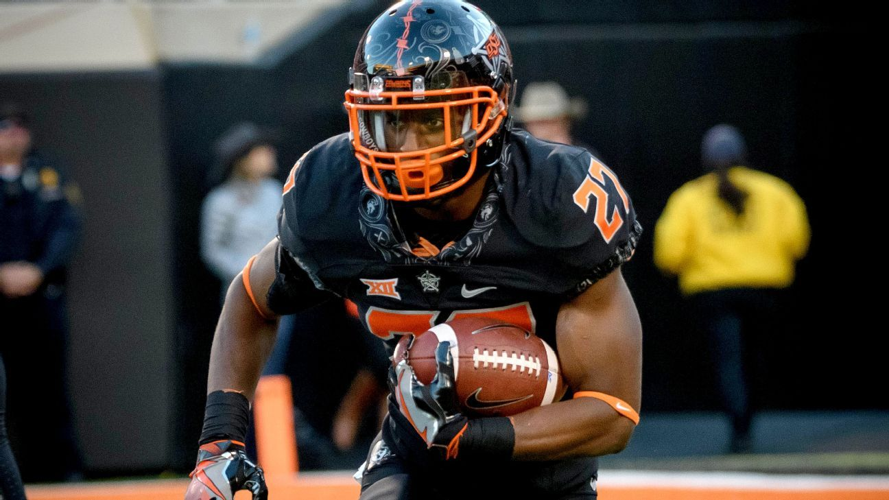 Who will be Big 12's 1,000yard rushers in 2017