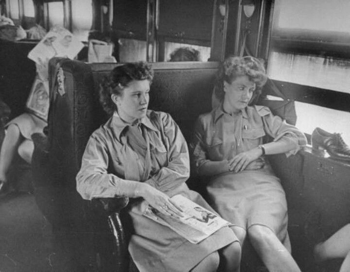 Wacs on unairconditioned train